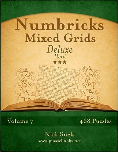 Numbricks Mixed Grids Deluxe - Hard - Volume 7 - 468 Logic