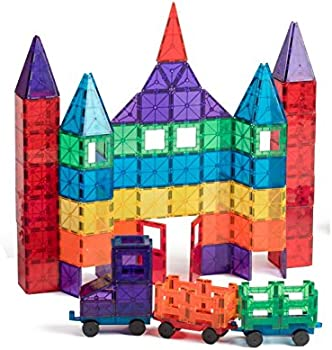 Playmags 100-Pc Magnetic Tiles Building Set
