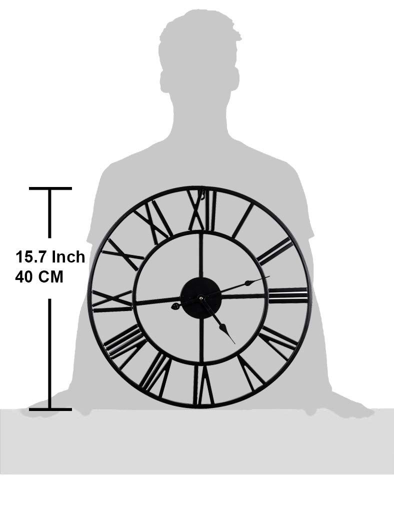 Golden 19.7 Inch Mengshen Giant Roman Numeral Wall Clock