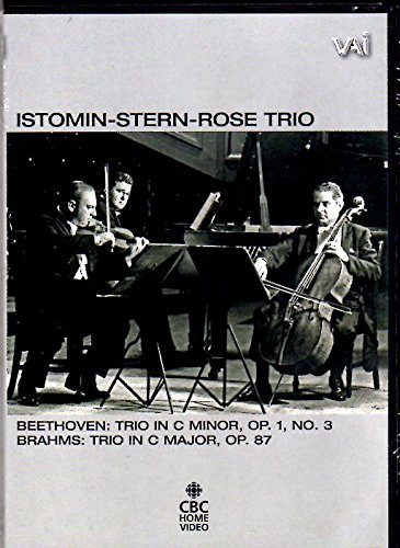 (The Istomin-Stern-Rose Trio: Trios by Beethoven and Brahms)