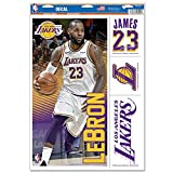 Official Lebron Lakers 11'' x 17'' Multi-Use Decal Sheet