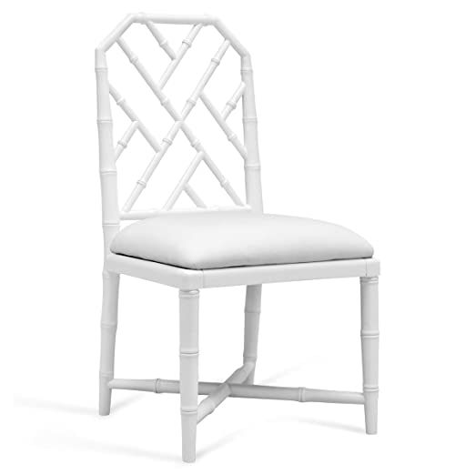 Amazon.com: Fontaine Hollywood Regency gris silla de comedor ...