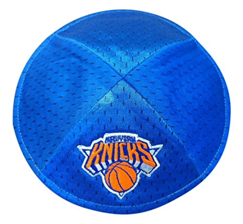 NBA New York Knicks Men's Kippah, One Size, Blue by Emblem Source