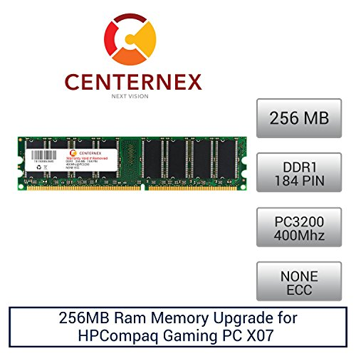 Click to buy 256MB RAM Memory for HPCompaq Gaming PC X07 (PC3200 NonECC) (DE466A ) Desktop Memory Upgrade by US Seller - From only $23.73