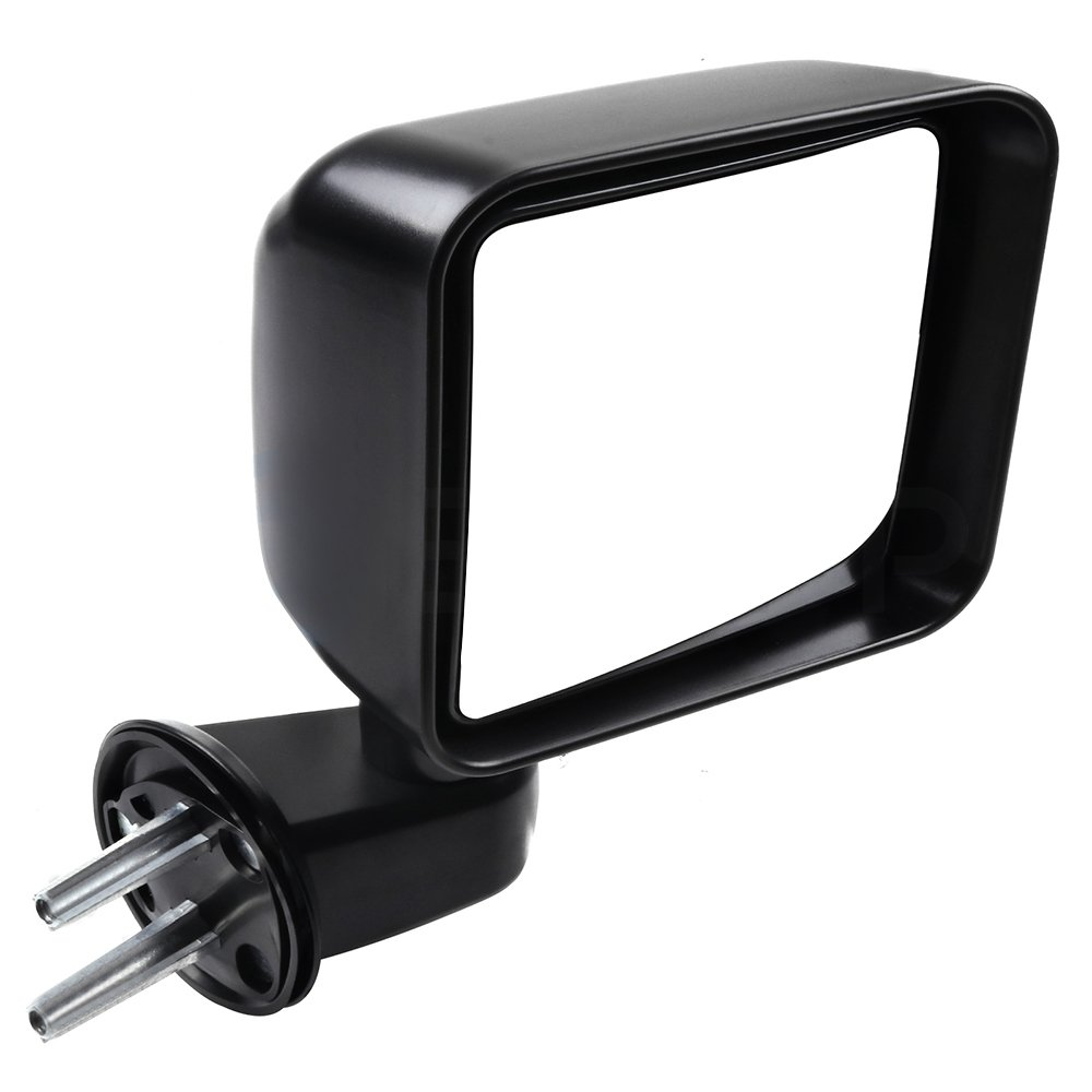 ECCPP Towing Mirrors for 2007-2017 Jeep Wrangler OE Truck Rear View Mirrors with Manual Folding