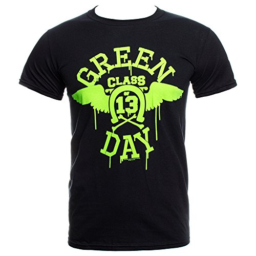 Wings T Shirt - Large, Black (Green Day Printed T-shirts)