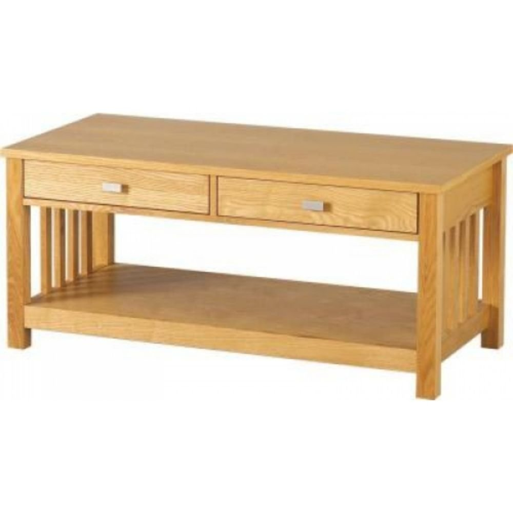 Furniture Expressions Seconique Ashmore 2 Drawer Coffee Table