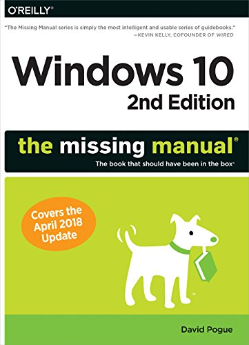 Windows 10: The Missing Manual: The book that should have been in the box]()