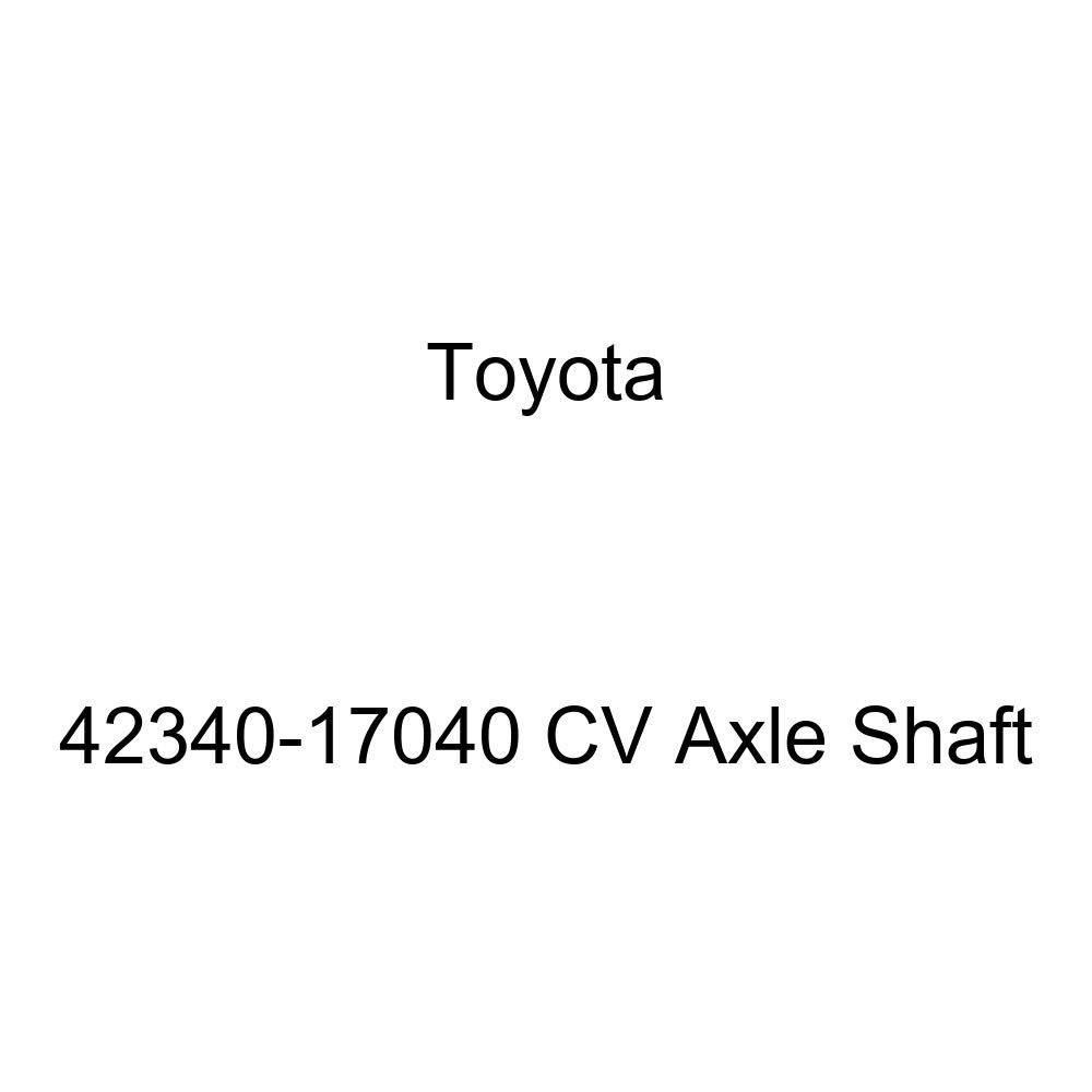 Toyota 42340-17040 CV Axle Shaft