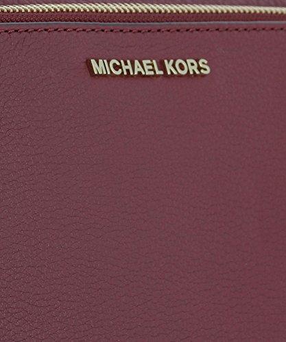 Michael By Michael Kors Borsa A Spalla Donna 32S7GAFC3L666 Pelle Viola