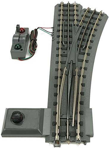 O-72 Realtrax Remote Right-Hand Switch by MTH TRAINS; MIKES TRAIN HOUSE