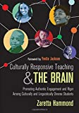 A bold, brain-based teaching approach to culturally responsive instruction  To close the achievement gap, diverse classrooms need a proven framework for optimizing student engagement. Culturally responsive instruction has shown promise, but many tea...