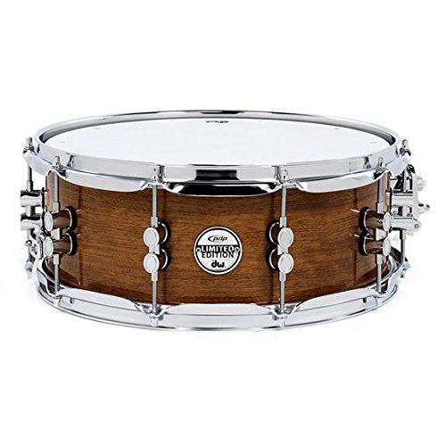Pacific Drums & Percussion PDSX6514BMBM 6.5'' x 14'' Limited Edition Bubinga Snare Drum by Pacific Drums & Percussion
