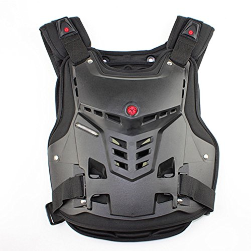 A.B Crew Motorcycle Body Armor Adult Street Bike Chest Protector Off-Road Dirt Bike Vest - Armor Chest Body