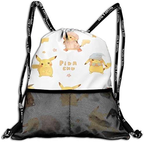 ポケットモンスター3(1) 人気 ナップサック 通勤 通学 マルチ バッグ 旅行 多機能 ナップサック 男女兼用 スイミングバッグ 巾着袋 登山 防水 軽量 バンドルポケッ