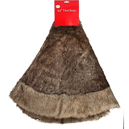 Regency International 54'' Faux Fur Tree Skirt