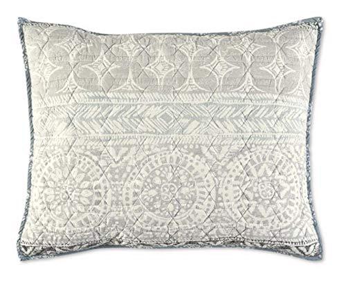 Nico Reversible Standard Pillow Sham in Grey/Aqua
