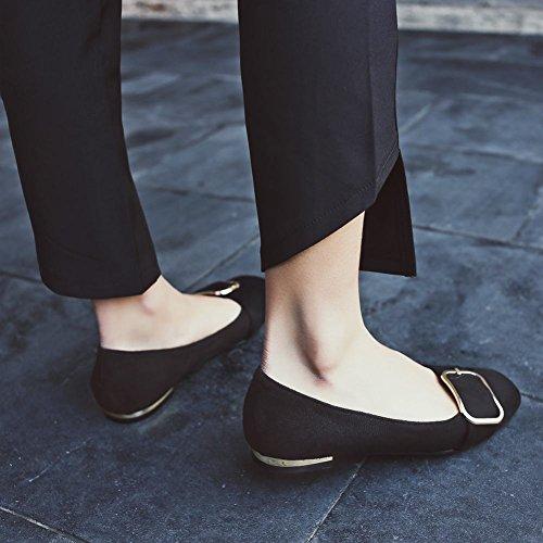 Sjarm Fot Kvinners Komfort Leopard Print Flat Loafer Sko Svart