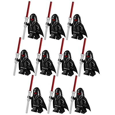 10 New Lego Star Wars Shadow Guard Minifig Lot 75079 Black Imperial Figure Clone: Toys & Games