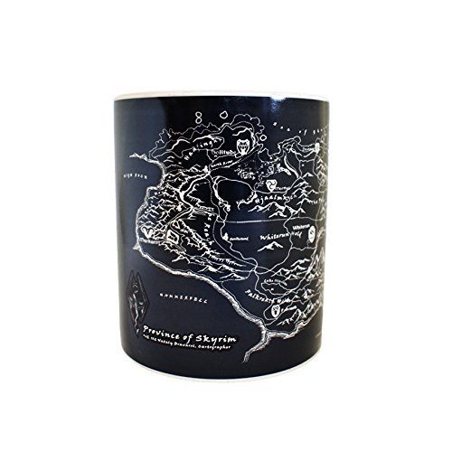 Skyrim Official Heat Reactive Mug: Amazon.es: Hogar