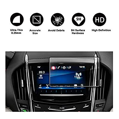 2013-2020 Cadillac ATS Cadillac SRX 8In CUE infotainment Interface Touchscreen Car Navigation Touch Screen Protector,Tempered Glass 9H Anti-Scratch and Shock Resistant: GPS & Navigation