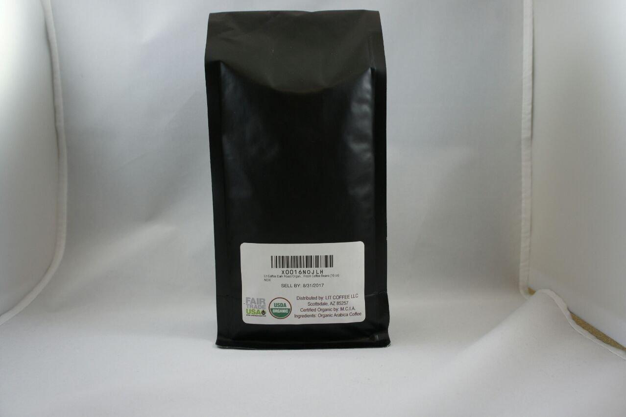 lit Café Dark Roast orgánico Comercio Justo Origen único ...