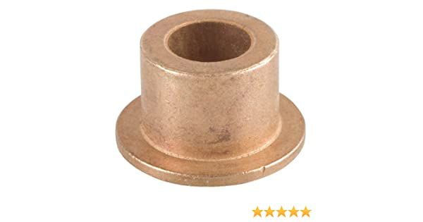 1//2 Bore x 3//4 OD x 1//2 Length x 1 Flange OD x 1//8 Flange Thickness Bunting Bearings EXEF081208 Extra Lubricant with PTFE Flange Bearing Powdered Metal SAE 841 Pack of 3