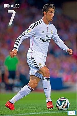 Fútbol – Póster – Real Madrid – Cristiano Ronaldo 14/15 + Póster ...