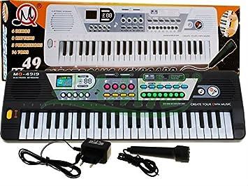 BSD MQ 4919 Teclado con función de grabación y el micrófono ...