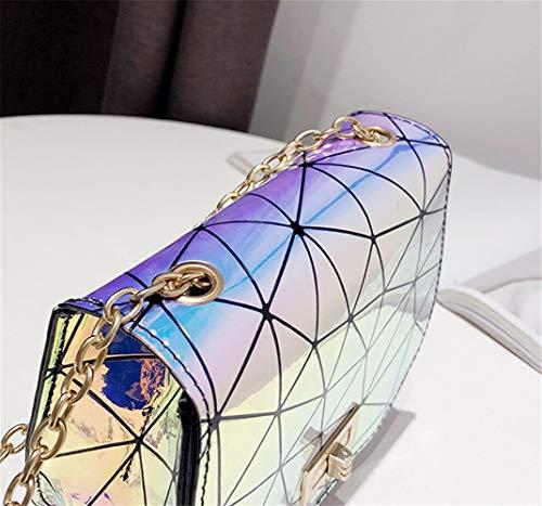 Solo Costuras Gules Bolsos De Moda Bolso Diamante Un La Hombro Con Totes qSxE1R