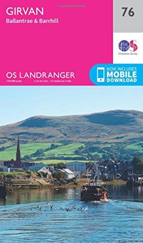 Girvan, Ballantrae & Barrhill (OS Landranger Map)