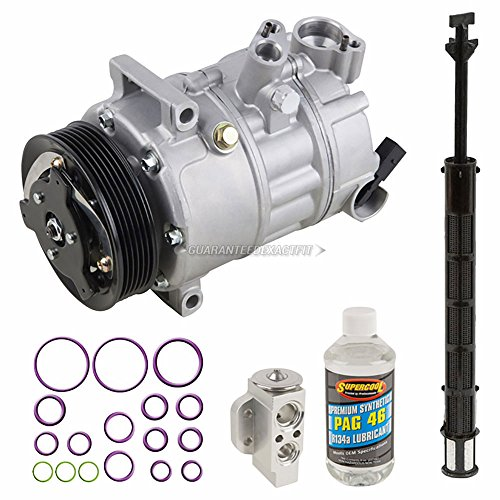 AC Compressor w/A/C Repair Kit For Volkswagen Passat CC 2009 2010 - BuyAutoParts 60-81526RK NEW ()