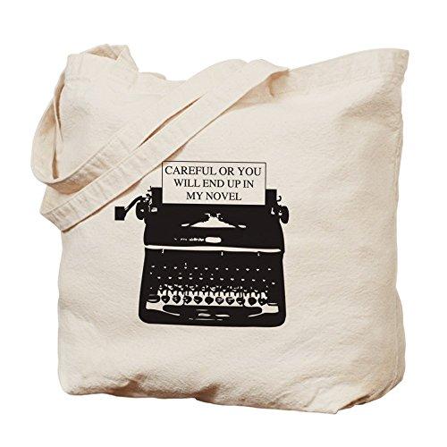 CafePress–Attenzione o a mio romanzo–Borsa