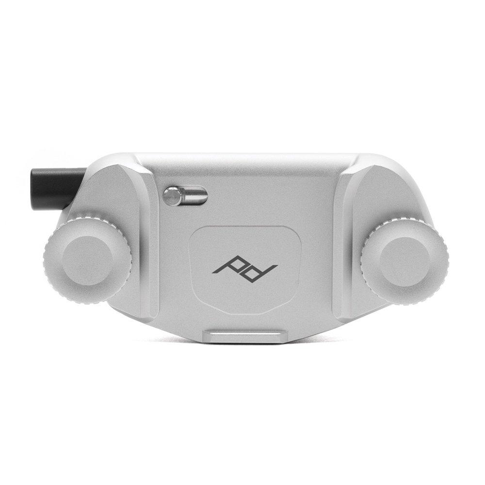 Peak design Capture camera clip V3. Argento. No piastra CC-S-3