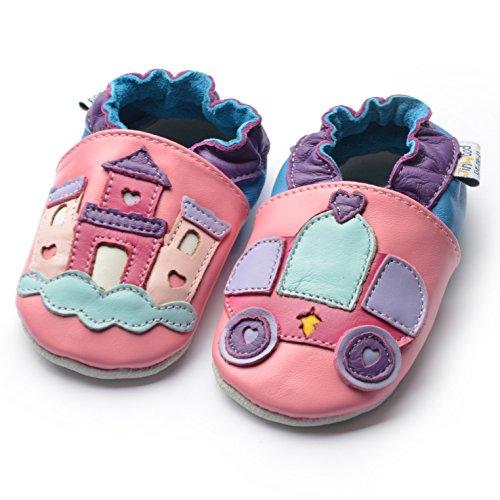 Jinwood designed by amsomo - Patucos para niña Multicolor - dream castle pink soft sole