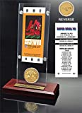 "NFL Miami Dolphins Super Bowl 7 Ticket & Game Coin Collection, 12"" x 2"" x 5"", Black"