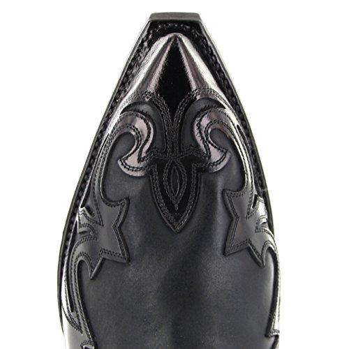 Flo Boots Western Uomo Stivali Sendra 4660 Negro pPwq0wT