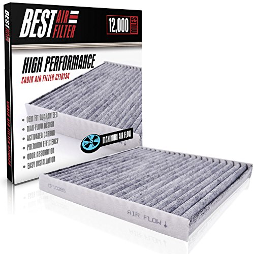 Best Cabin Air Filter for Honda / Acura (CARBON ACTIVATED) Replacement Filter for Accord, Civic, Pilot, CR-V, Odyssey, Ridgeline, RL, TL, MDX, RDX, TSX, RLX Competes with FRAM CF10134 & ATP RA-31