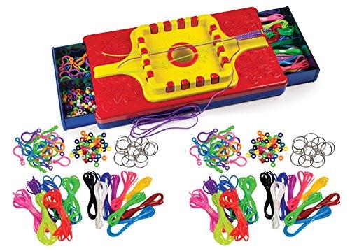 Summer Craft Kit by Choose Friendship - My Lanyard Maker Summer Craft Challenge Activity Assortment / 12 (Plastic Friendship Bracelets)