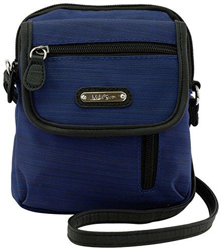 Handbag Black Blue Crossbody MultiSac Everest Deep Micro zpgwPq