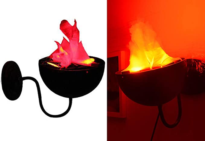 Electric LED 3D Fake Fire Lamp Torch Flame Light for Christmas Party Home Decors