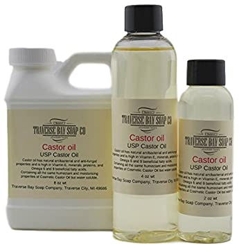 Aceite de ricino USP 8 oz, hacer jabón suministro, seguridad ...