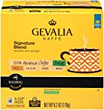 Gevalia Signature Blend Decaf Coffee, Mild Roast, K-Cup Pods, 18 Count (Pack Of 4)
