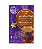 Big Train Vanilla Chai, No Sugar Added, 1.2-Ounce Single Serve Packets (Pack of 25)