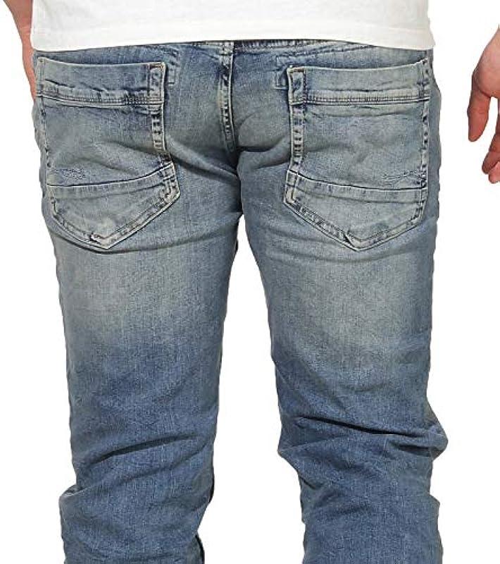 M.O.D Thomas jeansy męskie Straight Leg Jeans: Odzież
