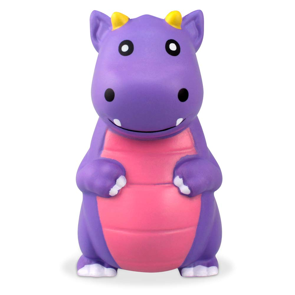 UMIKU Jumbo Squishies Slow Rising Squishy Dinosaur Toys Stress Relief Toy Cream Scented Squishies for Kids Party Favors Decorative Props Purple