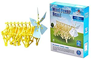 Bo Toys Wind-powered Walking Walker Model Robot Kit Animaris Ordis Parvus Strandbeest