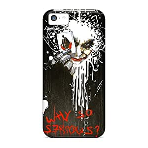Favorcase Design High Quality Why So Serious Artwork Covers Cases With Excellent Style For Iphone 5c