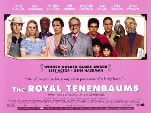 THE ROYAL TENENBAUMS Movie Poster