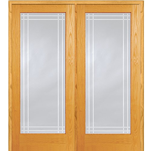 National Door Company Z019979R Unfinished Pine Wood 1 Lit...
